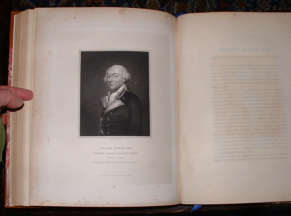 Image for Memoirs of Celebrated Naval Commanders, Illustrated by Engravings from Original Pictures in The Naval Gallery of Greenwich Hospital