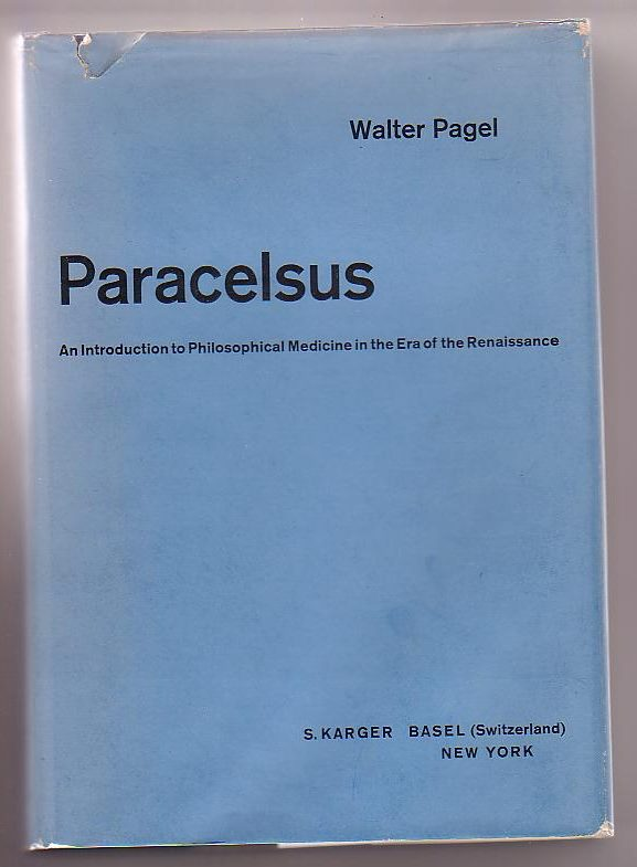 Image for Paracelsus: An Introduction to Philosophical Medicine in the Era of the Renaissance
