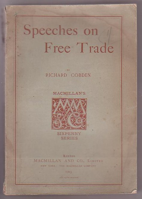 Image for Speeches on Free Trade