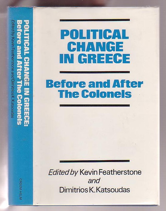 Image for Political Change in Greece: Before and After the Colonels
