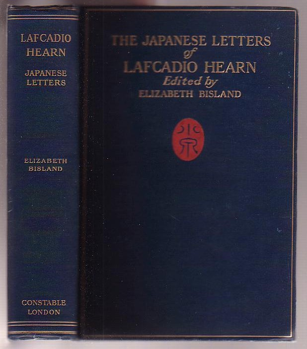 Image for The Japanese Letters of Lafacadio Hearn