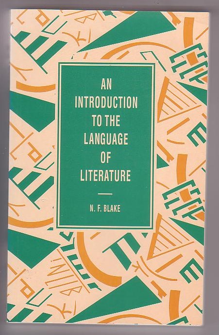 Image for An Introduction to the Language of Literature