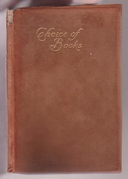 Image for The Choice of Books