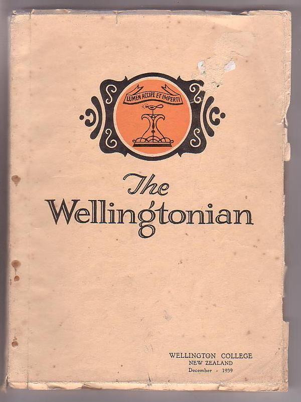 Image for The Wellingtonian. Vol. XLVIII. December 1939