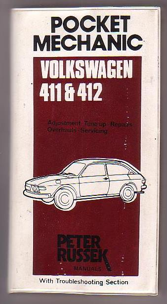 Image for Repair Guide Volkswagen 411 and 412