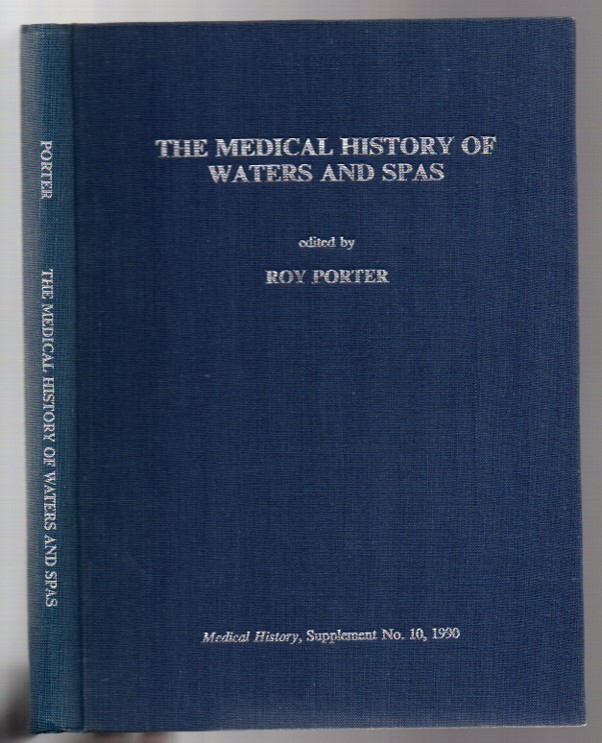 Image for The Medical History of Waters and Spas