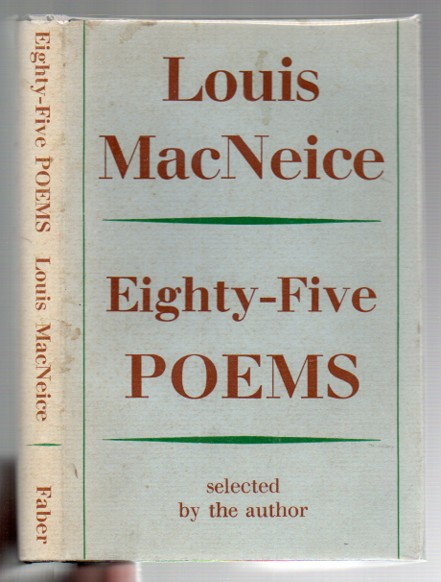 Image for Eighty-Five Poems Selected by the Author