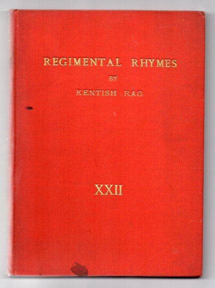 Image for Regimental Rhymes and Other Verses