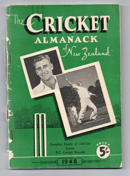 Image for The Cricket Almanack of New Zealand 1948