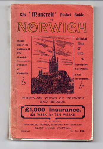"Image for The ""Mancroft"" Pocket Guide to Norwich"