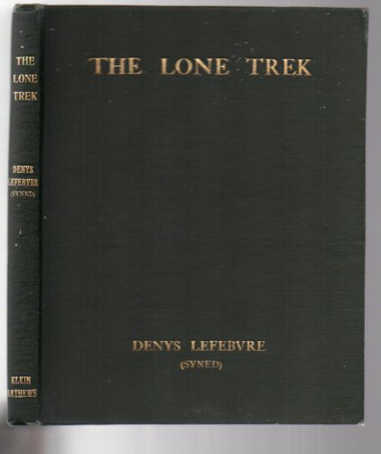Image for The Lone Trek