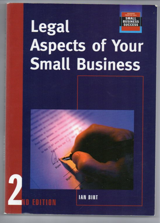 Image for Legal Aspects of Your Small Business