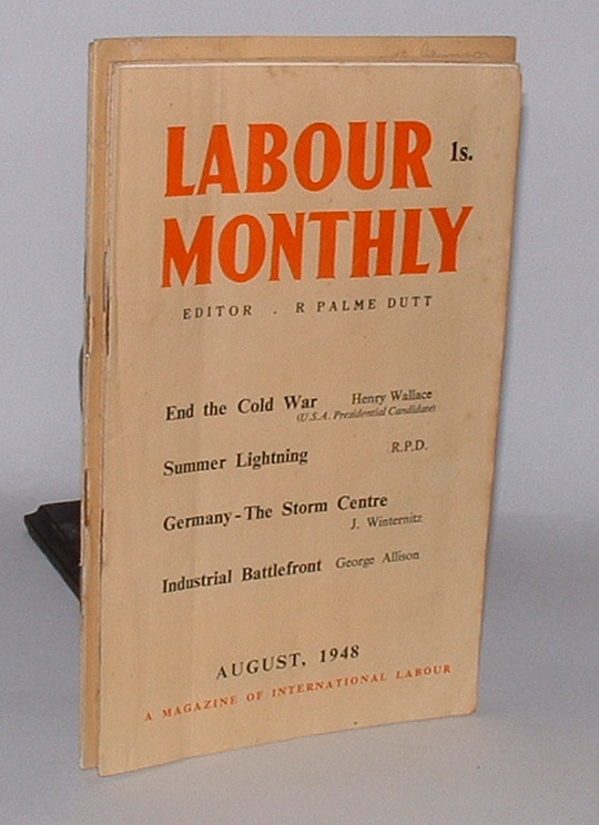 Image for Labour Monthly: A Magazine of International Labour [group of seven issues from 1947, 1948]