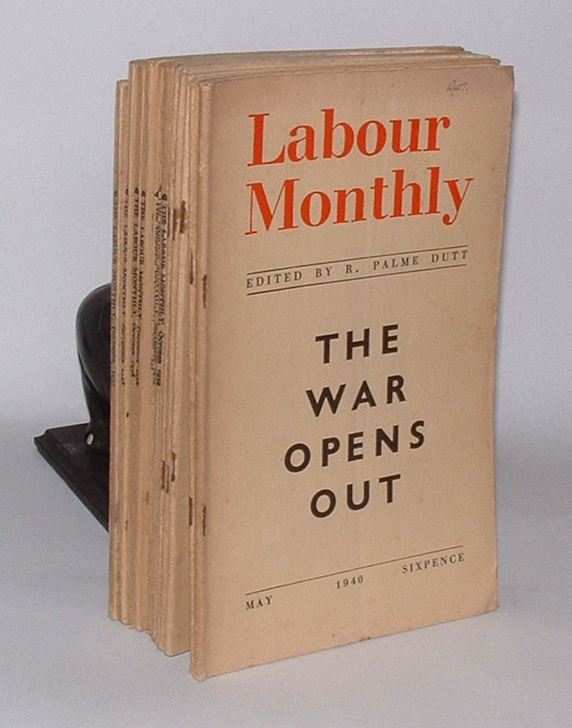 Image for Labour Monthly: A Magazine of International Labour [group of eleven issues from 1937-1940]