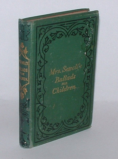 "Image for Ballads for Children; including ""Mother's Last Words,"" and ""Our Father's Care."""