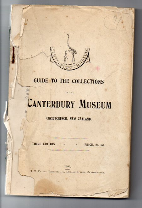 Image for Guide to the Collections in the Canterbury Museum Christchurch, New Zealand