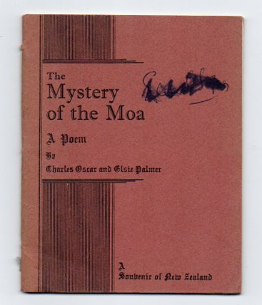 Image for The Mystery of the Moa: A Poem. A Souvenir of New Zealand.