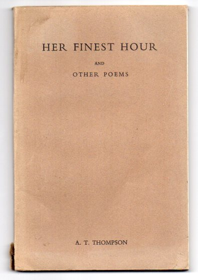 Image for Her Finest Hour and other poems