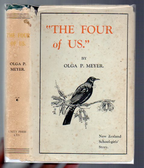 "Image for ""The Four of Us"": New Zealand School-Girls' Story"