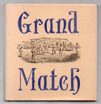 Image for Grand Match between the All-England Eleven and the Twenty-Two of Canterbury - Played at Hagley Park, Christchurch 8th, 9th, & 10th February 1864