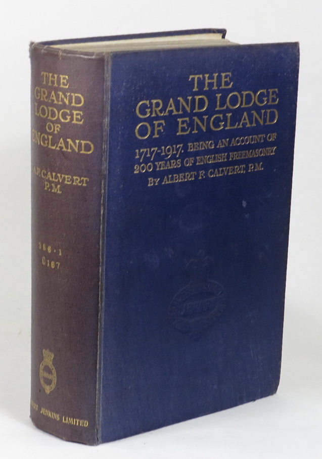 Image for The Grand Lodge of England 1717-1917 - Being an account of 200 years of English Freemasonry
