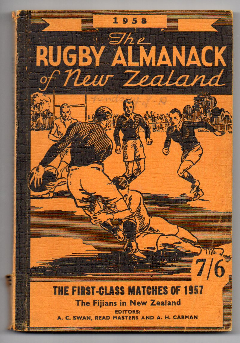 Image for The Rugby Almanack of New Zealand 1958
