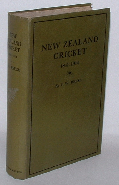 Image for New Zealand Cricket 1841 - 1914