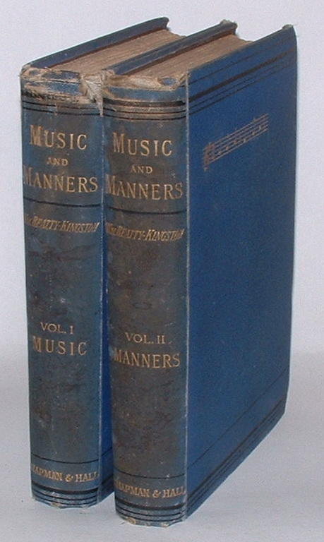 Image for Music and Manners: Personal Reminiscences and Sketches of Character. In Two Volumes.