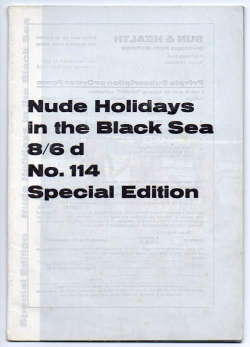 Image for Nude Holidays in the Black Sea. [Sun Seeker] Special Edition No. 114