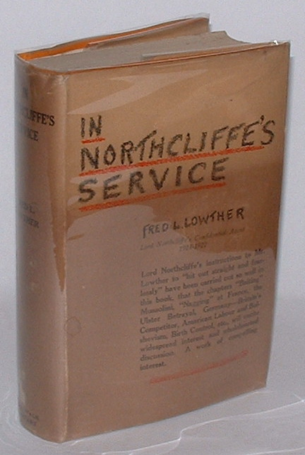 Image for In Northcliffe's Service