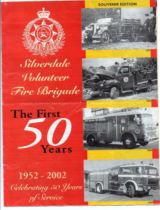 Image for Silverdale Volunteer Fire Brigade: The First 50 Years 1952-2002