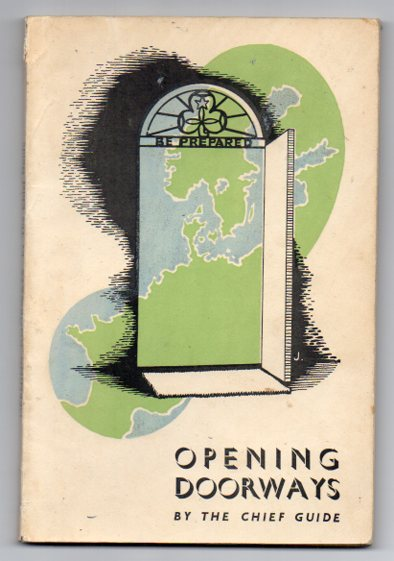 Image for Opening Doorways: The story of the Chief's travels in Europe during 1945