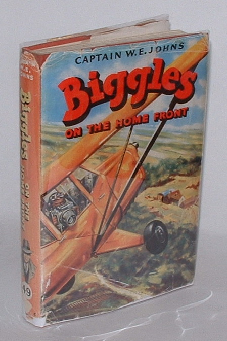 Image for Biggles on the Home Front