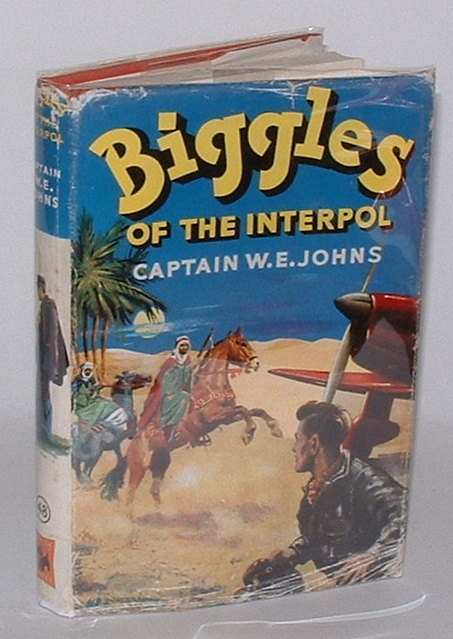Image for Biggles of the Interpol