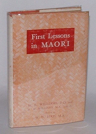 Image for First Lessons in Maori