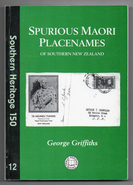 Image for Spurious Maori Placenames of Southern New Zealand