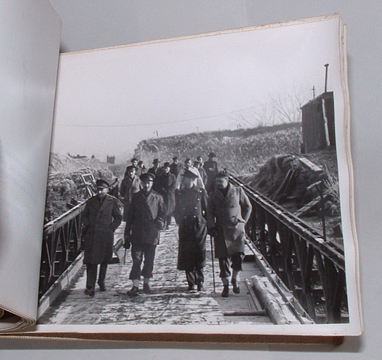 Image for Wesel and Cologne Bailey Bridges. Visit of R. E. 7 and E. B. E. 24 January - 28 January 1946 [Photograph album]