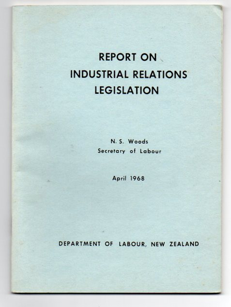 Image for Report on Industrial Relations Legislation