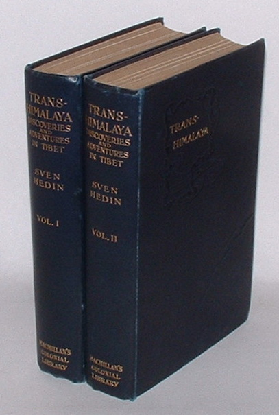 Trans-Himalaya: Discoveries and Adventures in Tibet. [Two Volumes]
