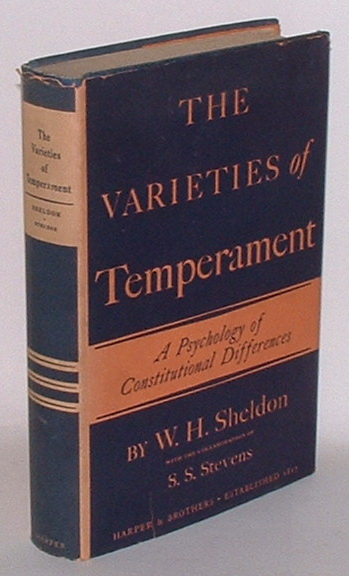Image for The Varieties of Temperament: A Psychology of Constitutional Differences