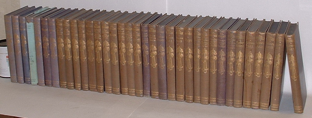 Image for The Works. Tusitala Edition. 35 Volumes (Complete)