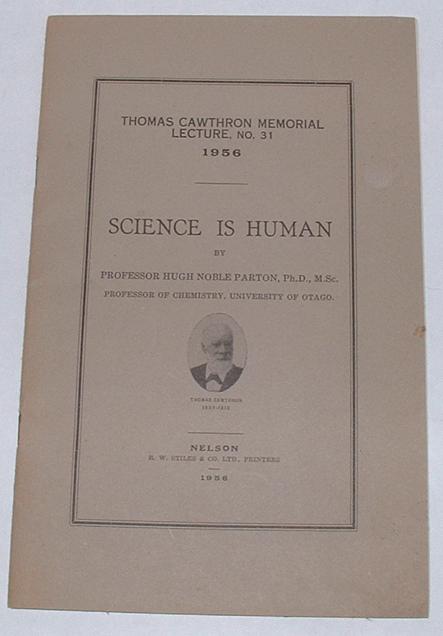 Image for Science is Human