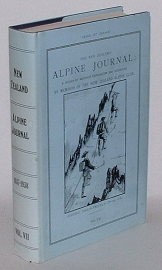 Image for The New Zealand Alpine Journal. [Volume VII only]