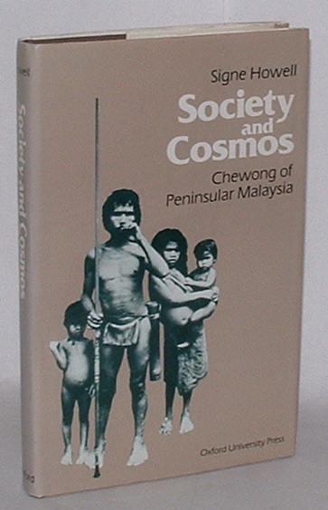 Image for Society and Cosmos: Chewong of Peninsular Malaysia