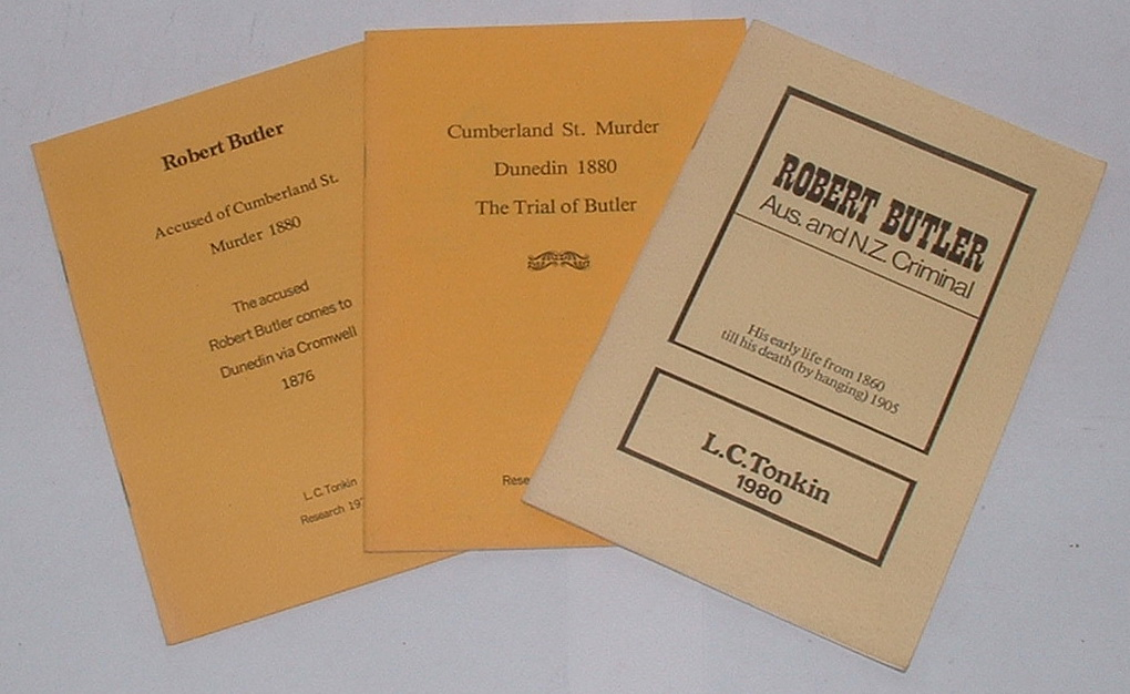 Image for [Series of 3 booklets on Robert Butler, the Cumberland St. Murder]
