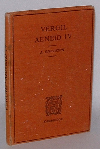 Image for The Aeneid of Vergil - Book IV