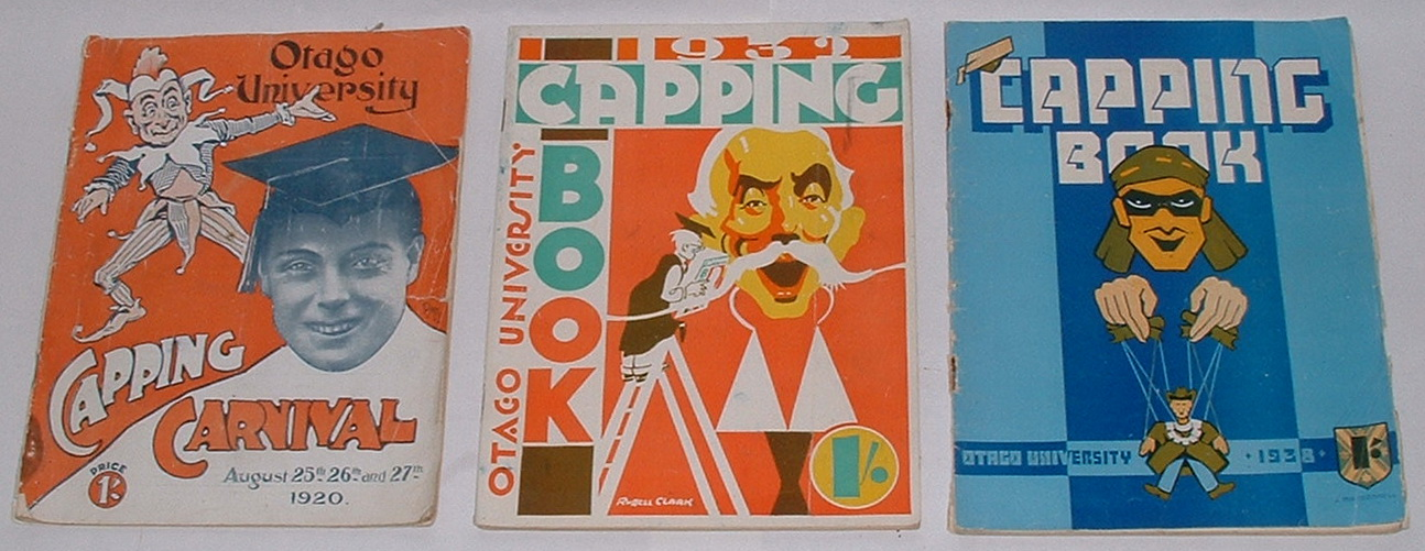 Image for Otago University Capping Book. [6 Issues: 1920, 1932, 1938, 1939, 1945, 1951]