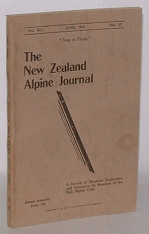 Image for The New Zealand Alpine Journal. June, 1945. Vol. XI. No. 32.