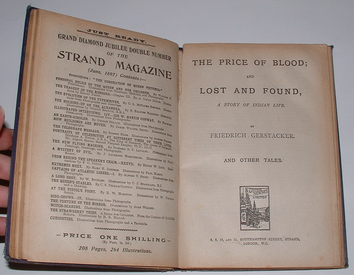 Image for The Price of Blood; and Lost and Found, A Story of Indian Life. And Other Tales. [bound with four others]