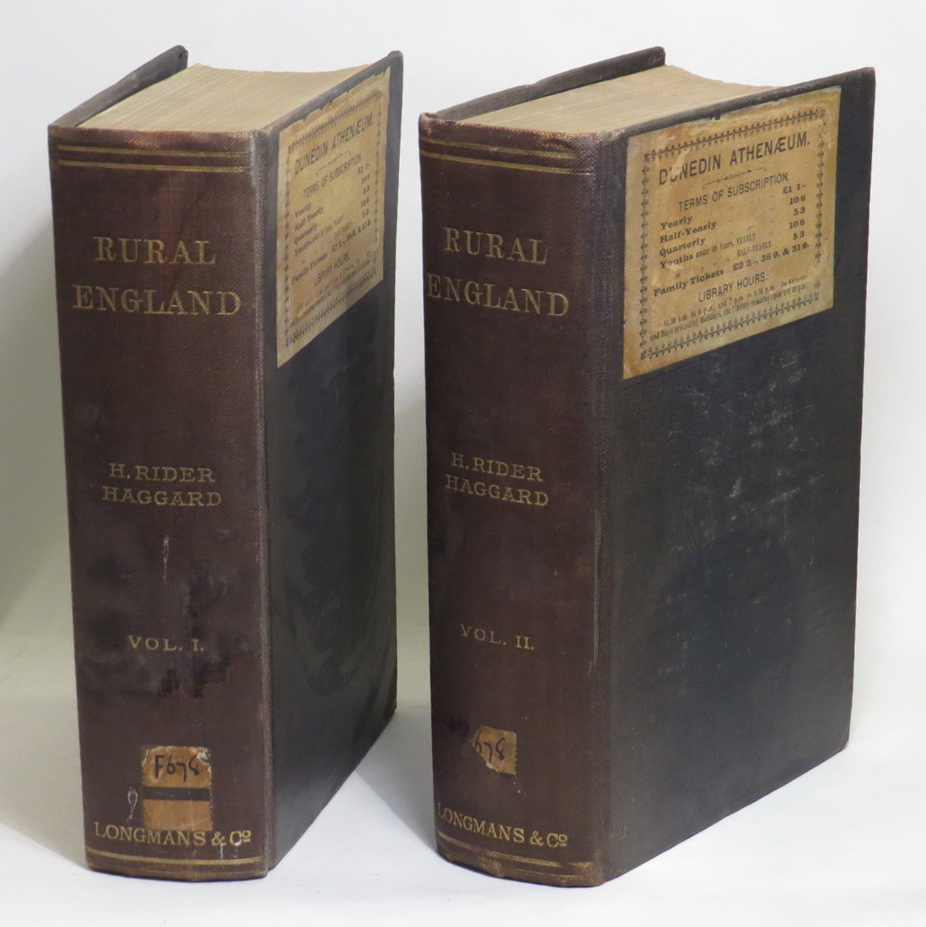 Image for Rural England: Being an Account of Agricultural and Social Researches Carried Out in the Years 1901 & 1902